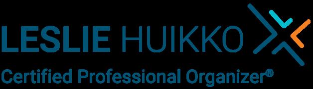 Leslie Huikko, Certified Professional Organizer